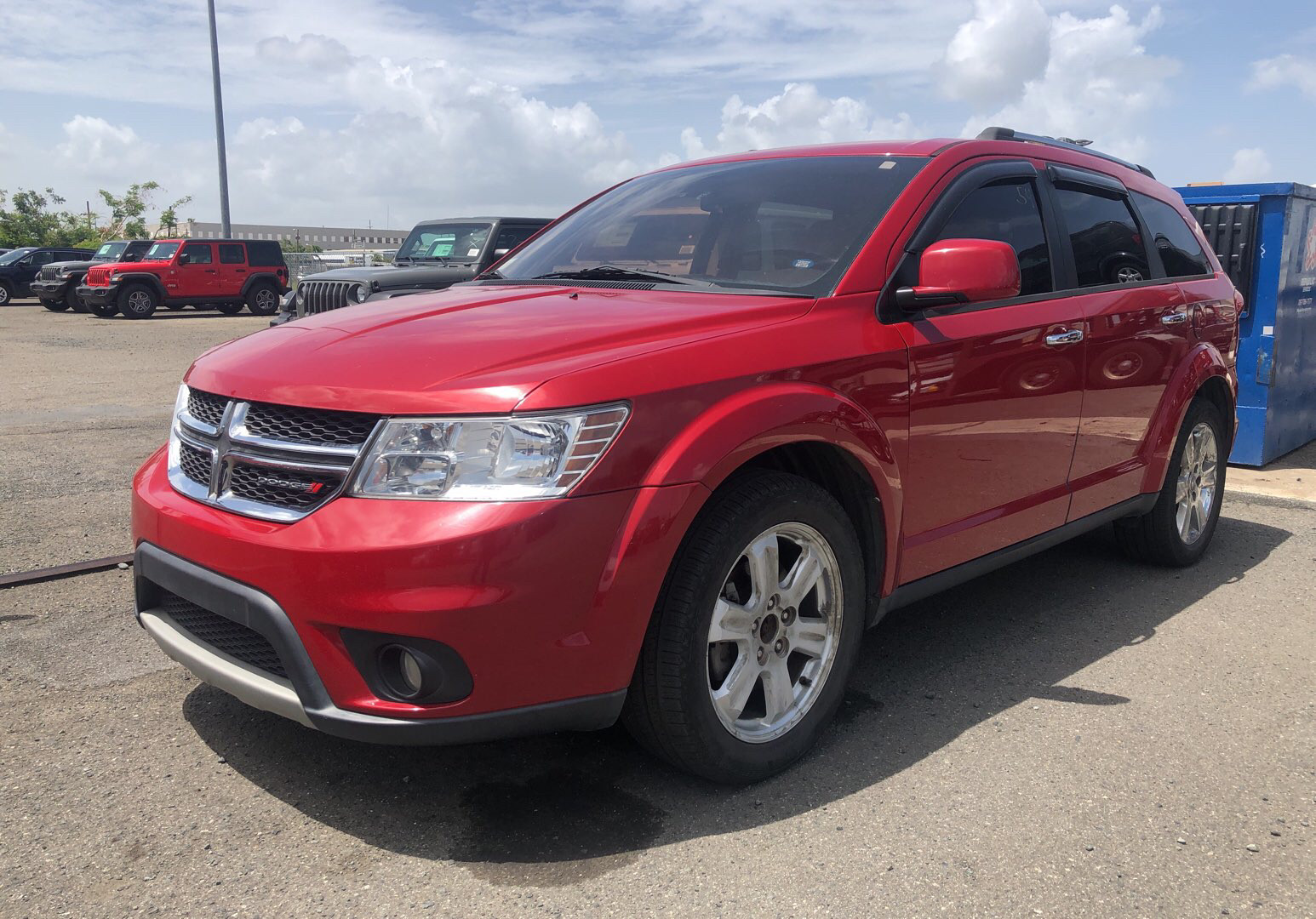 2012 Dodge Journey Tire Size >> Dodge Journey Red 2012 Alberic Colon Chrysler